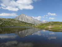 Le Mont Cenis avec le lac