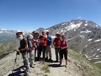 Mont Cenis - le groupe de randonneurs