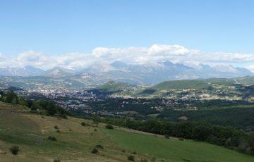 Vue panoramique du bassin gapençais, photo Wikipédia