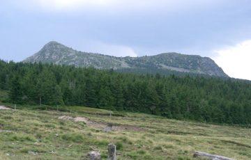 Le Mont Mézenc, photo Wikipédia