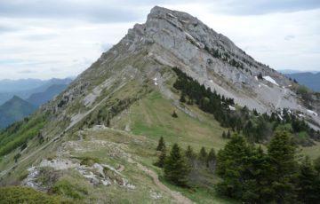 Vue sur le Col de l'Arc