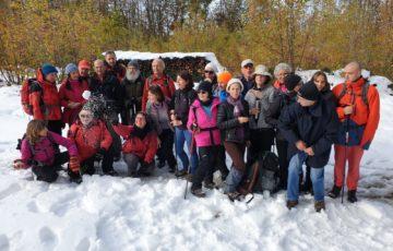 groupe GTA dans la neige